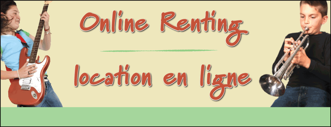Online Renting Now Available for Select Student Instruments!