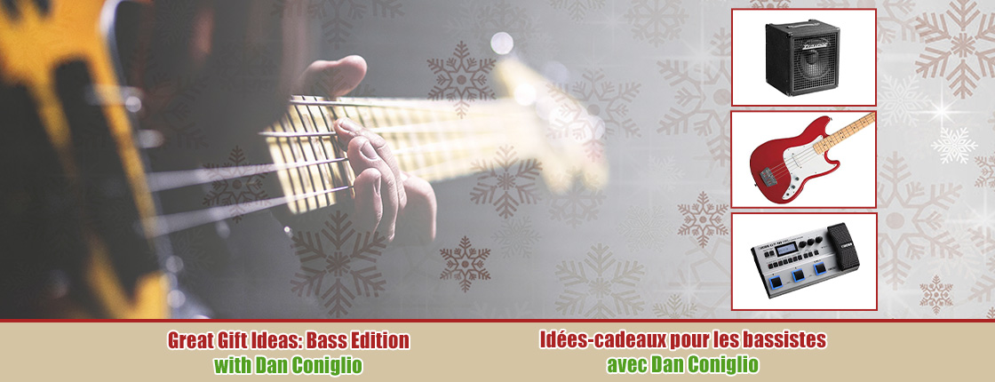 Facebook Livestream: Great Gift Ideas - Bass Edition with Dan Coniglio
