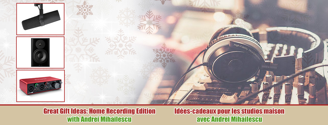 Facebook Livestream: Great Gift Ideas - Home Recording Edition with Andrei Mihailescu