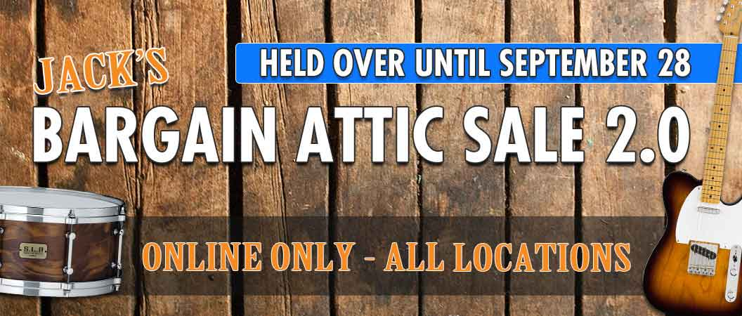 Jack's Bargain Attic Sale 2.0