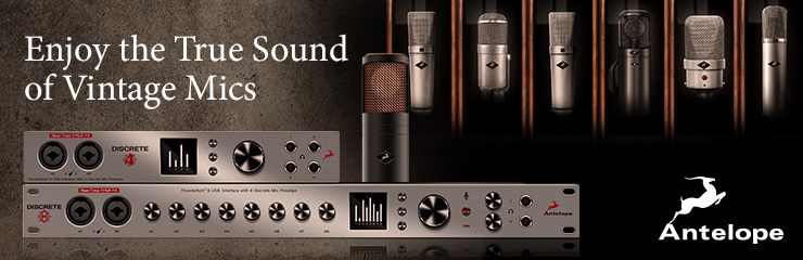 Enjoy the True Sound of Vintage Mics