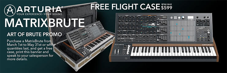 Art of Brute - Free Flight Case!