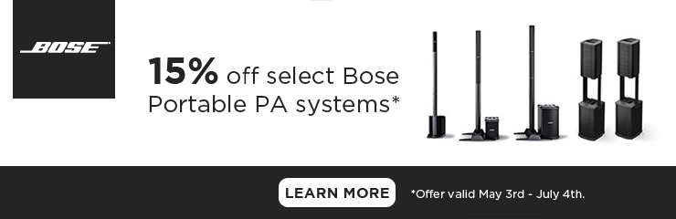 Save 15% on Bose Portable PA!