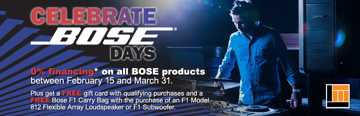 Bose Days are Back!