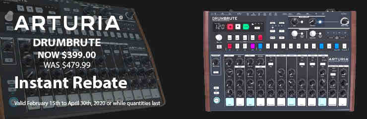 Arturia DrumBrute - Special Pricing!