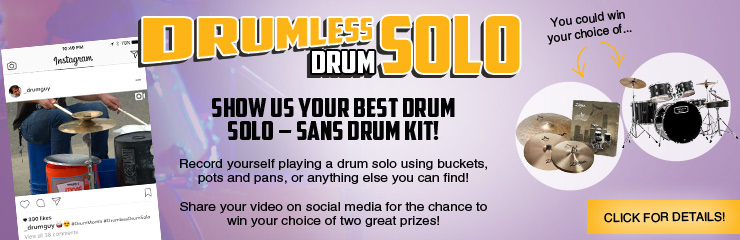 Drumless Drum Solo Contest