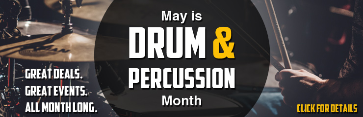 May is Drum Month!
