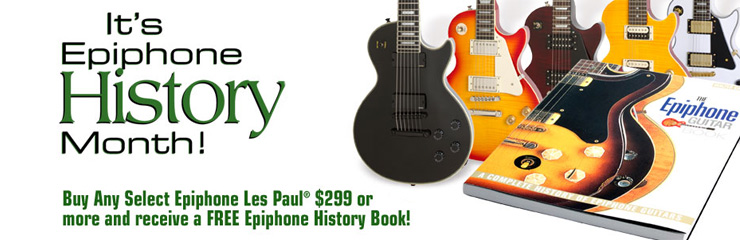 June is Epiphone History Month!