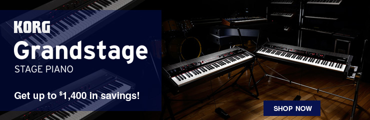 Save Up to $1,400 on the Korg Grandstage!