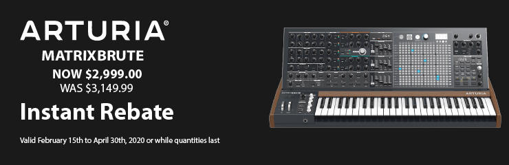 Arturia MatrixBrute - Special Pricing!