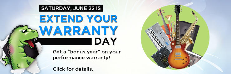 Extend Your Warranty Day!