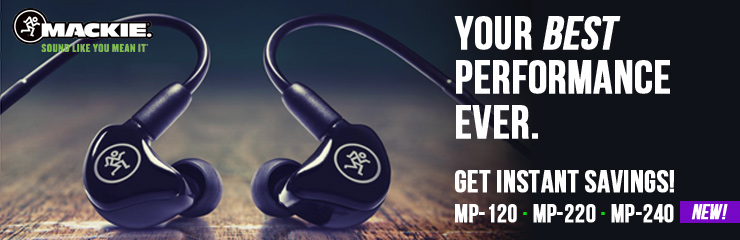 Get Instant Savings on the New MP-Series In-Ear Monitors!