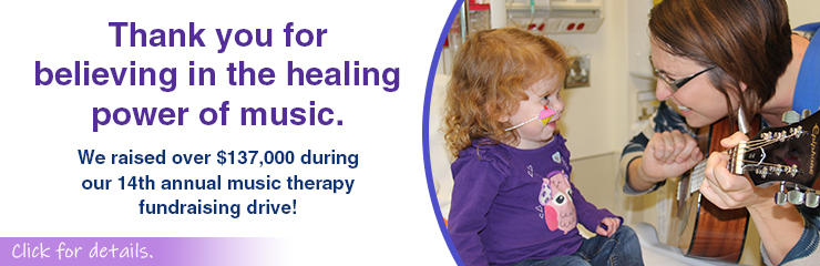 Thank You - Music Therapy Drive