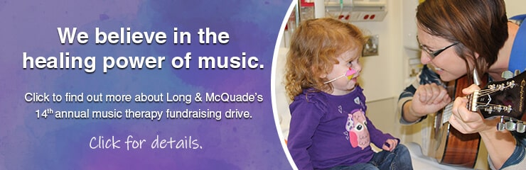 Music Therapy Fundraising Drive