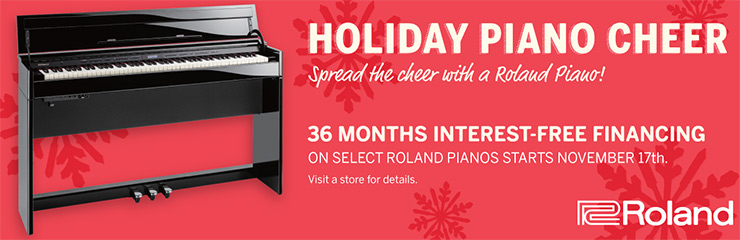 Roland Holiday Piano Financing
