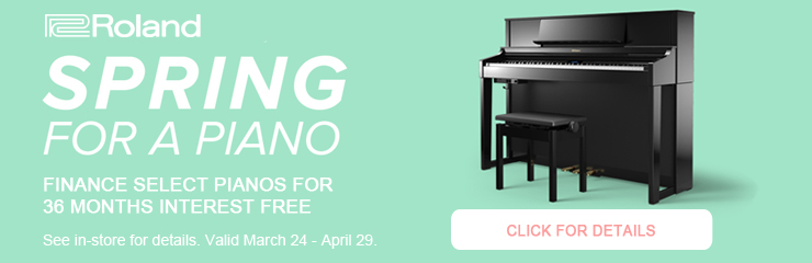 Spring for a Piano Financing Offer