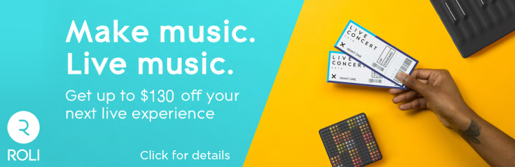 Save on Your Next Live Music Experience with Roli!