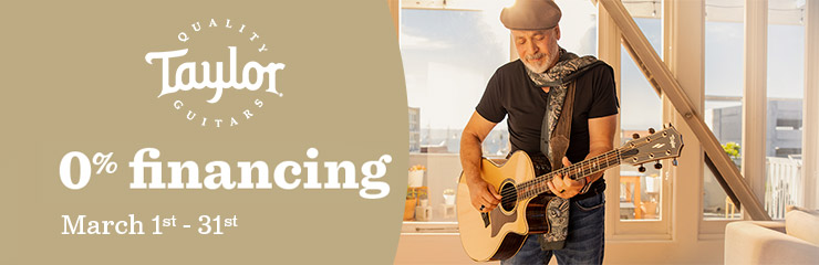 Taylor Guitars March Financing