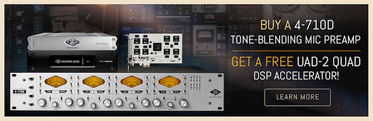 Get a Complete Studio Upgrade from Universal Audio!