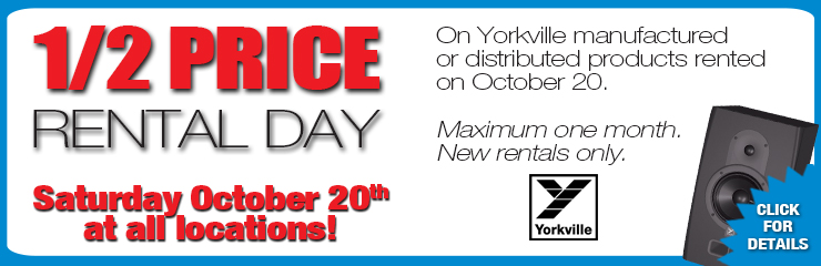 1/2 Price Rental Day