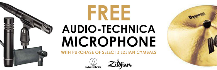 Zildjian Audio-Technica Promotion