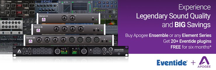 Apogee Ensemble and Element Series Offer!