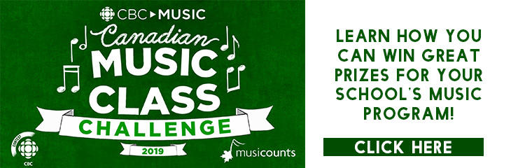 Canadian Music Class Challenge!
