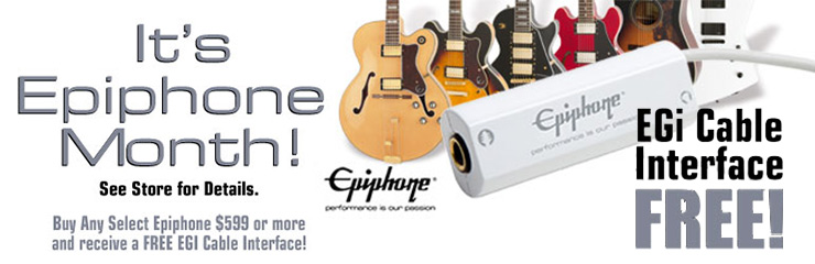 February is Epiphone Artist Month!