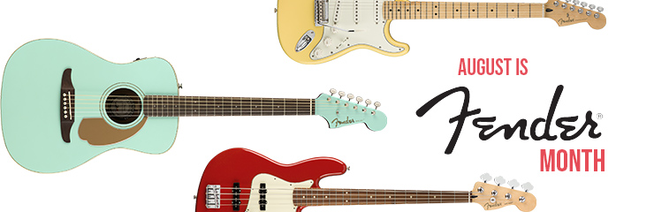 August is Fender Month!
