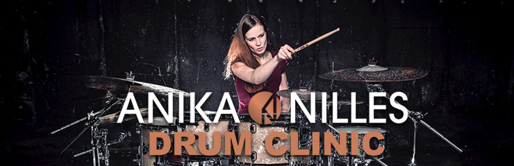 Anika Nilles Drum Clinic
