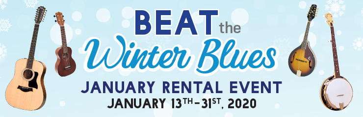 Beat the Winter Blues Rental Event