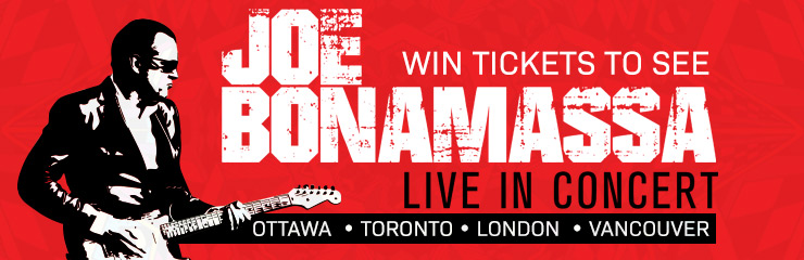 Win Tickets to see Joe Bonamassa in Concert!