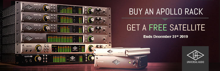 UA Apollo Rack Promo