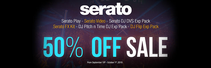 Serato 50% off sale!