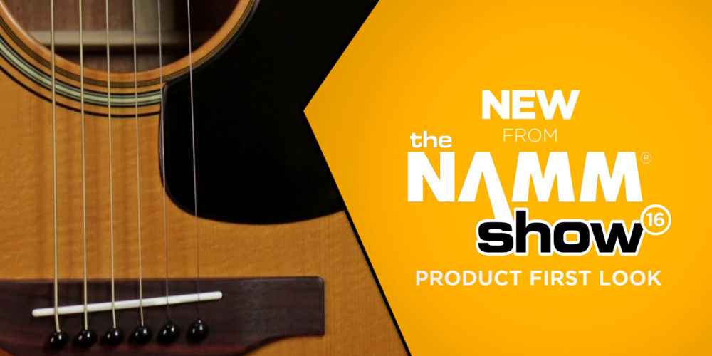 NAMM 2016:  Yamaha Acoustic Guitars and Active Basses