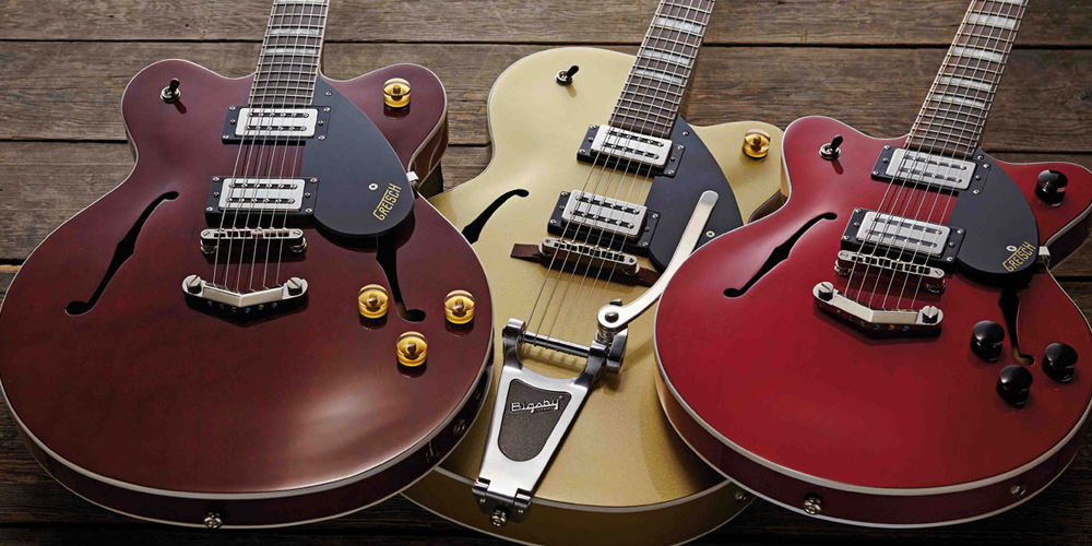 NAMM 2016: Grestch Streamliner and Players Edition Guitars