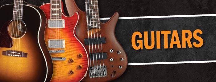 Guitars Acoustic Guitars Electric Guitars Guitar Cases Cables