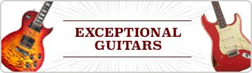 Exceptional Guitars Mobile Banner
