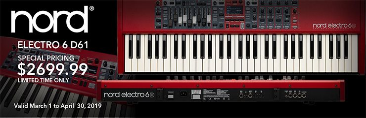 Nord Electro 6 D61 - Special Pricing!