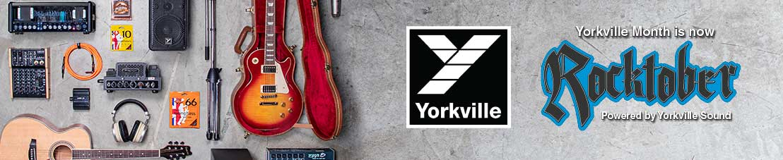 Rocktober - Powered by Yorkville Sound