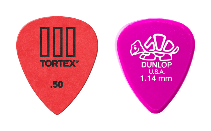 Selection Of Tortex Picks And Delrin
