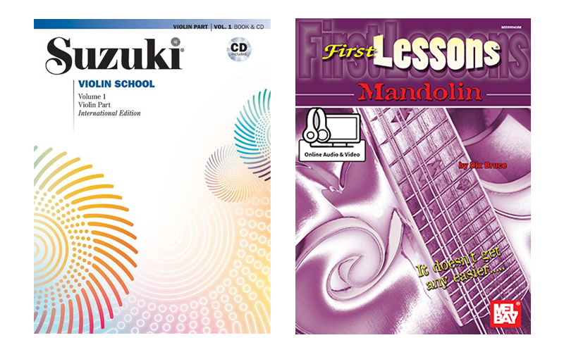 Suzuki string methods and Mel Bay's First Lessons series