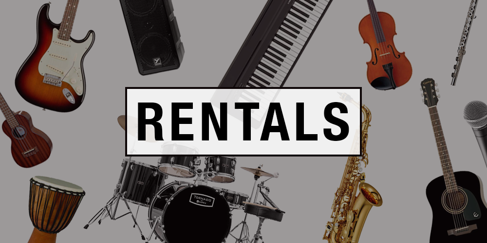 Long & McQuade offers affordable rentals at every location