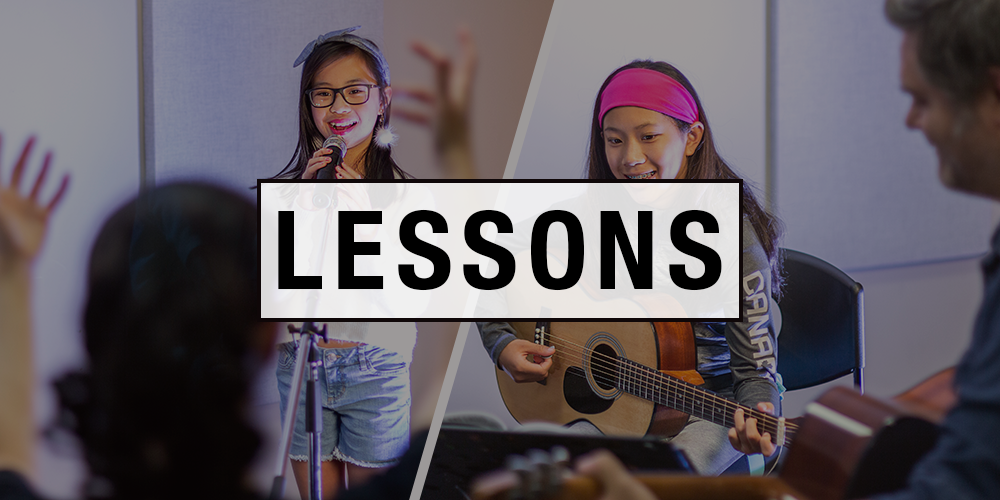 Long & McQuade offers a variety of lessons both online and in-person