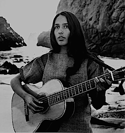 Joan Baez and Palor guitar