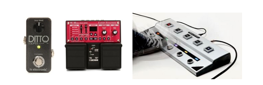 Ditto, Jamman, Boss RC-30 loop pedals