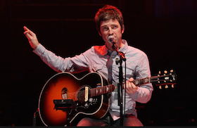 Noel Gallagher and Epiphone EJ-20