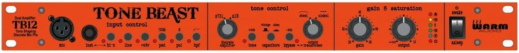 Warm Audio Tone Beast - Front Panel