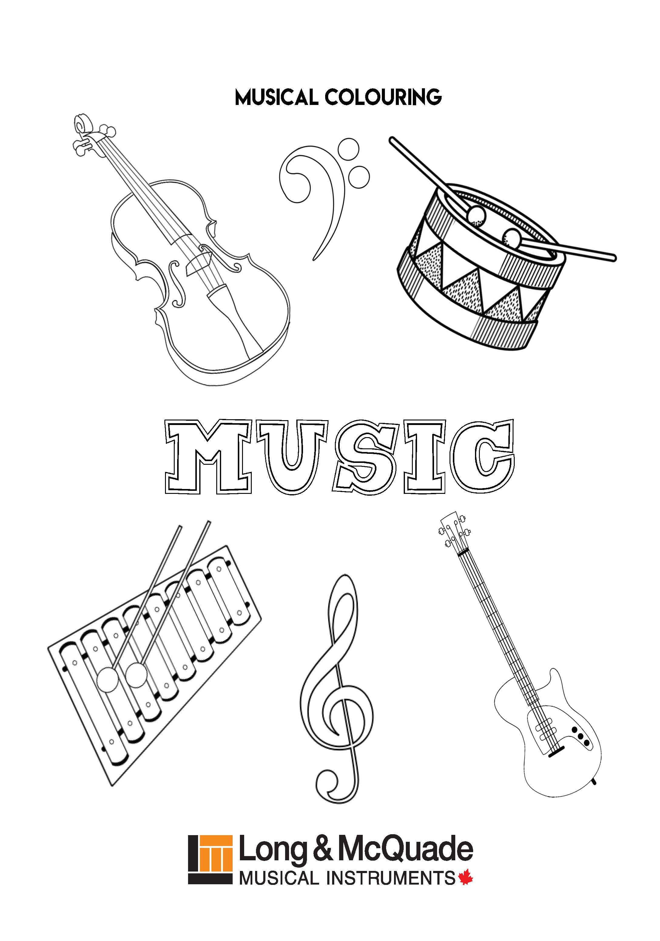 Musical Colouring 2