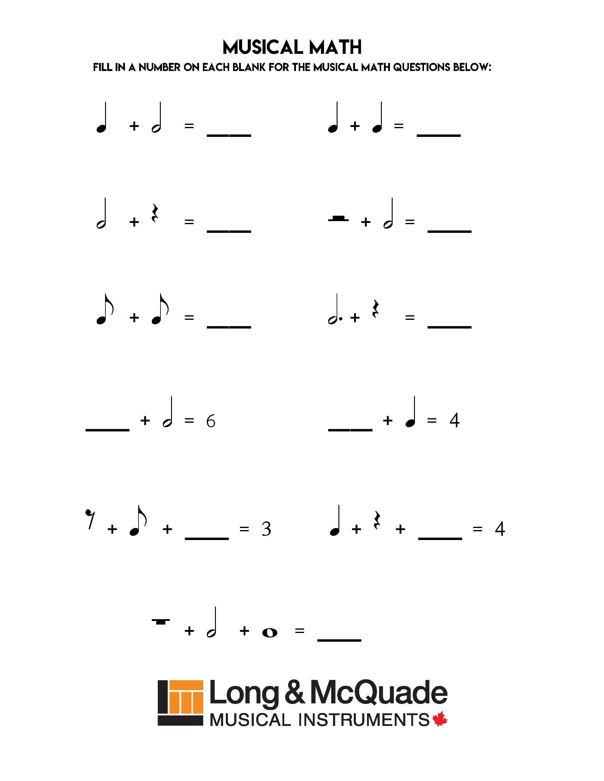 Musical Math 2